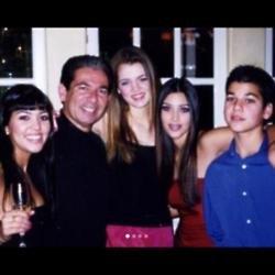 Khloe Kardashian's emotional tribute to her Dad