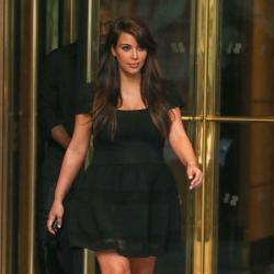 Kim Kardashian has definitely favoured black during her pregnancy