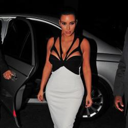 Kim Kardashian wears her Givenchy sandals here