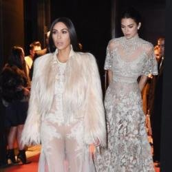 Kim Kardashian West and Kendall Jenner