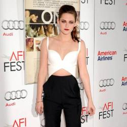 Kristen Stewart suits the masculine look