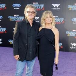 Kurt Russell and Goldie Hawn at the 'Guardians of the Galaxy Vol. 2 'premiere