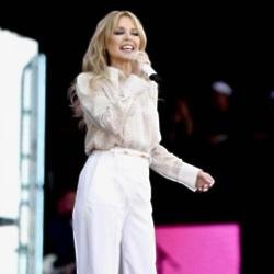 Kylie Minogue at Glastonbury 2019
