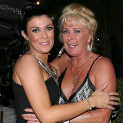 Kym Marsh and Beverley Callard in Spain