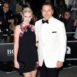 Lara Stone und David Walliams