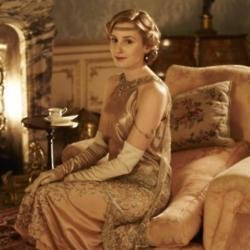 Laura Carmichael as Lady Edith Crawley in Downton Abbey