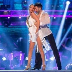 Giovanni Pernice with Laura Whitmore