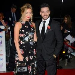 Laura Whitmore and her dance partner Giovanni Pernice