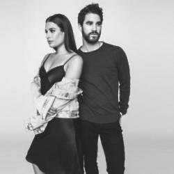 Lea Michele and Darren Criss