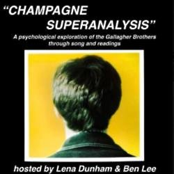 Lena Dunham and Ben Lee's Champagne Superanalysis poster