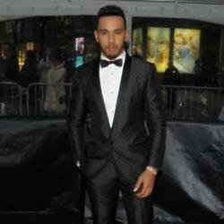 Lewis Hamilton at the Time 100 gala