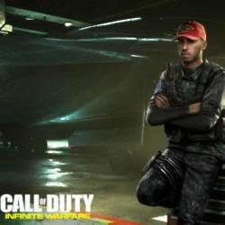 Lewis Hamilton in Call of Duty: Infinite Warfare