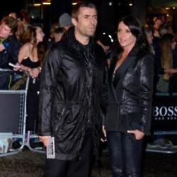 Liam Gallagher and Debbie Gwyther at the GQ Awards