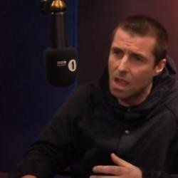 Liam Gallagher BBC Radio 1