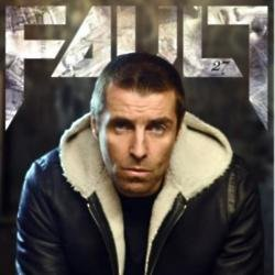 Liam Gallagher covers FAULT magazine