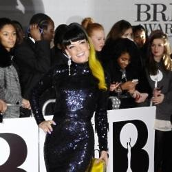Lily Allen stood out at the Brit Awards