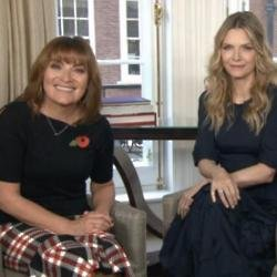 Lorraine Kelly and Michelle Pfeiffer (c) Twitter
