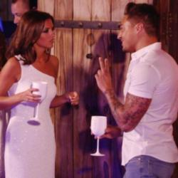 Lucky Mecklenburgh slams Mario Falcone in tonight's TOWIE