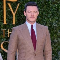 Luke Evans at Beauty and the Beast premiere