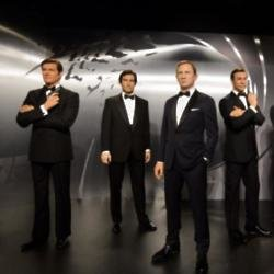 Madame Tussauds' Bond waxworks