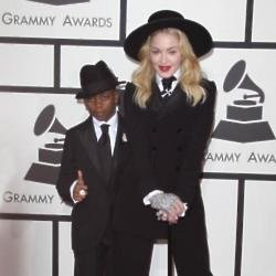 Madonna arrived at The Grammys