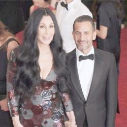 Marc Jacobs and Cher