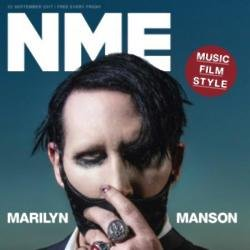 Marilyn Manson covers NME