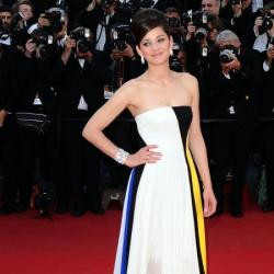 Marion Cotillard in Dior at the Blood Ties premiere