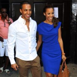Marvin Humes and Rochelle Wiseman On Their Honeymoon