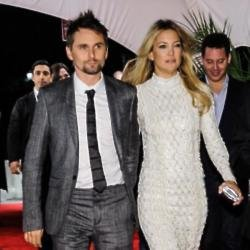 Matt Bellamy and Kate Hudson