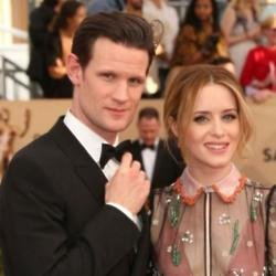 Matt Smith and Claire Foy at the SAG Awards