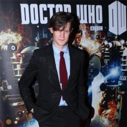 Matt Smith who portrays the Doctor