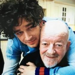 Matty and Tim Healy via Twitter (c)