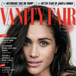 Meghan Markle on the cover of Vanity Fair magazine