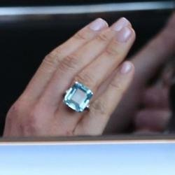 Meghan wears Princess Diana's ring
