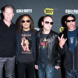 Metallica (Lars, second right)