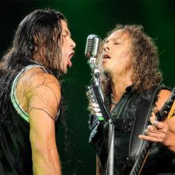 Kirk Hammett and Robert Trujillo
