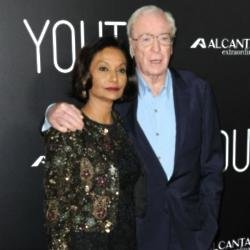 Sir Michael Caine and wife Shakira
