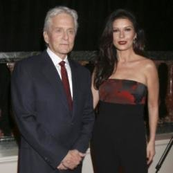 Michael Douglas and Catherine Zeta Jones (Credit: Famous)