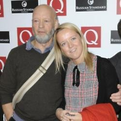 Emily Eavis and her father Michael