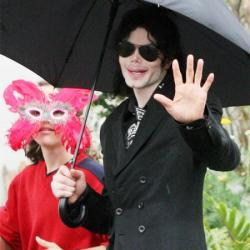 Michael Jackson in 2009
