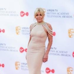 Michelle Collins at the Virgin TV British Academy Television Awards