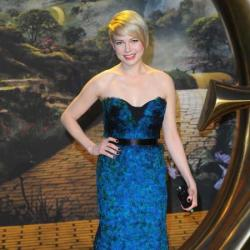 Michelle Williams at the Oz the Great and Powerful premiere