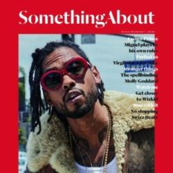 Miguel covers Something About magazine