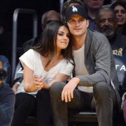 Mila Kunis and Asthon Kutcher