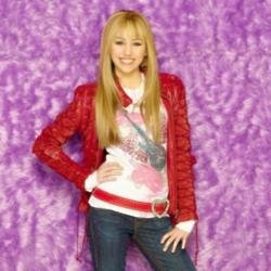 Miley Cyrus as Hannah Montana in 2007