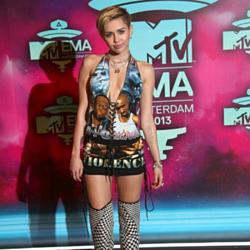 Miley Cyrus at the MTV Europe Music Awards