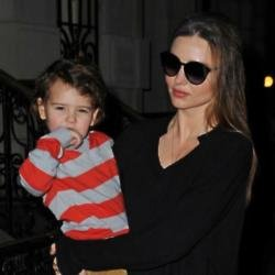 Miranda Kerr and son Flynn