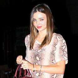Miranda Kerr always dresses on trend