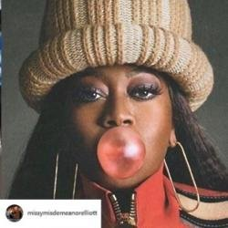 Missy Elliott Elle USA magazine cover (c) Instagram